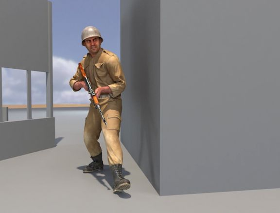 Soldier Animation