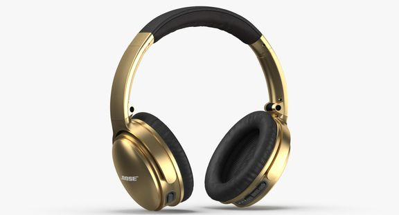 Bose Headphones Gold