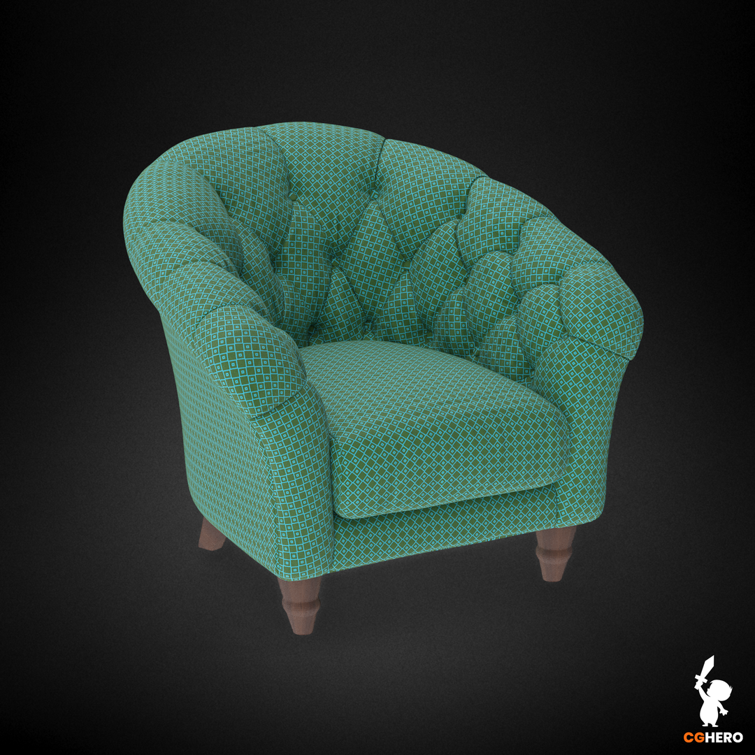 Armchair Visualisation Configuartor Cupcake Armchair Square Fabric png