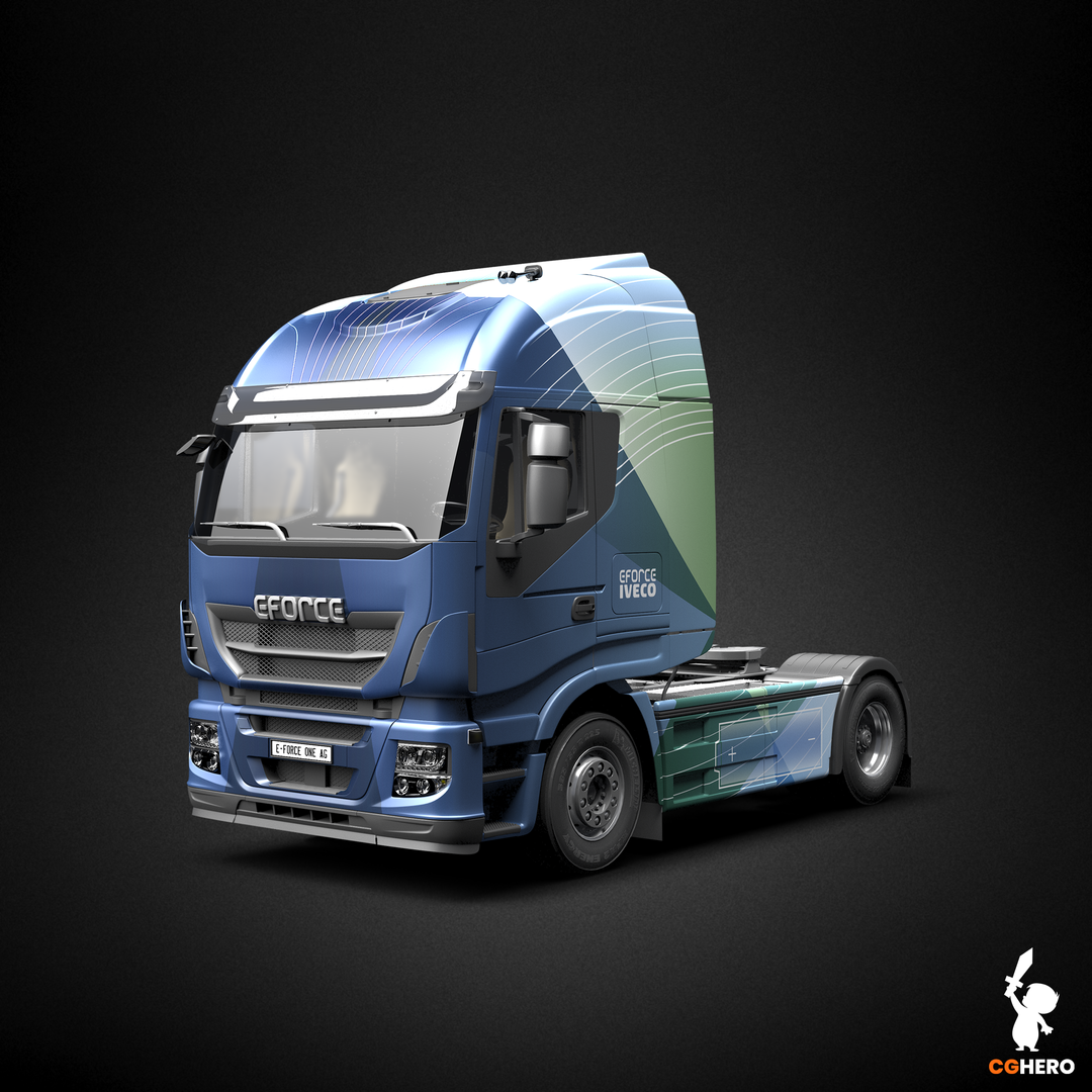 E-Force Cab Vehicle Wrap and Visualisation EFORCE CAB 001 png