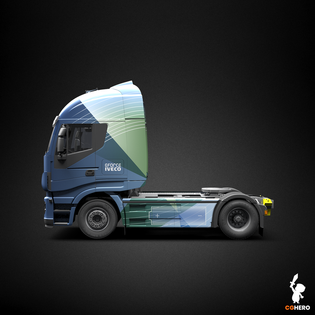 E-Force Cab Vehicle Wrap and Visualisation EFORCE CAB 003 png