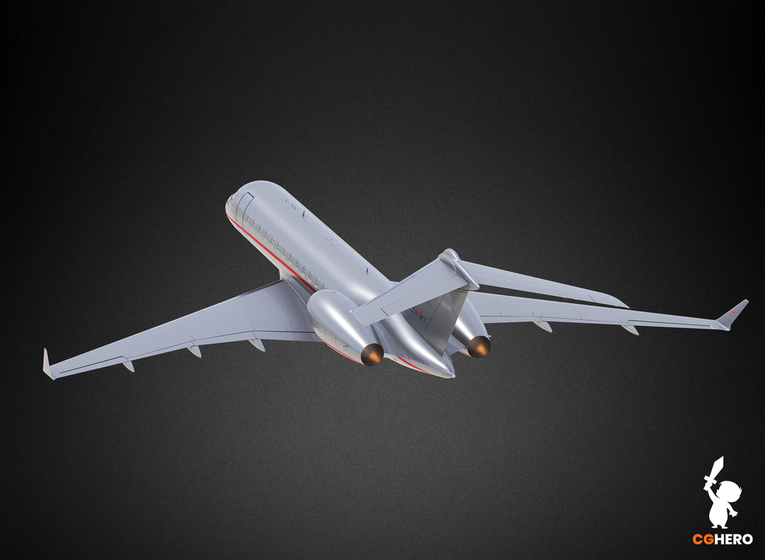 Bombardier Global 6000 Jet Visualisation Vista 6000 02 png