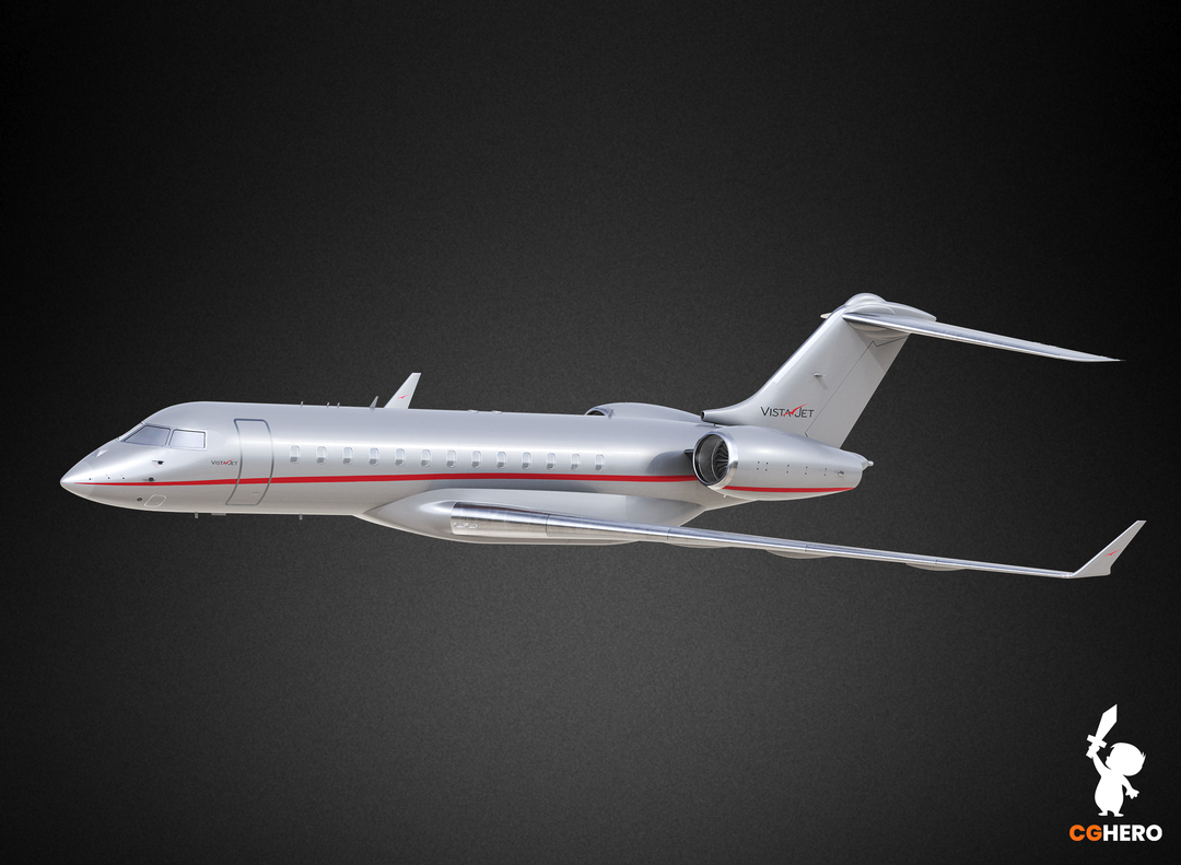 Bombardier Global 6000 Jet Visualisation Vista 6000 03 png