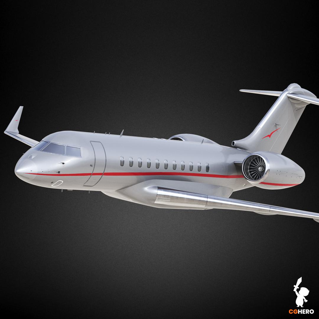 Bombardier Global 5000 Jet Visualisation VistaJet 5000 Preview0 png