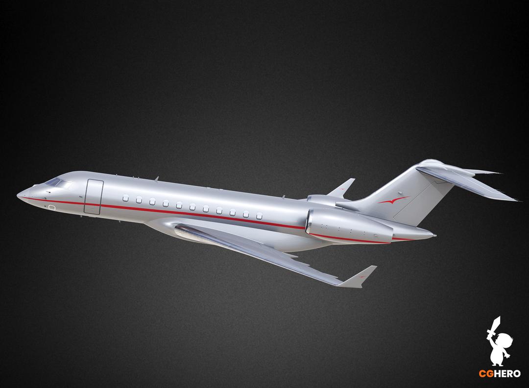 Bombardier Global 5000 Jet Visualisation Vista 5000 00 png
