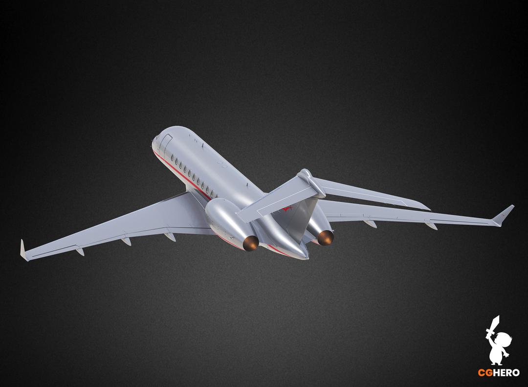 Bombardier Global 5000 Jet Visualisation Vista 5000 02 png