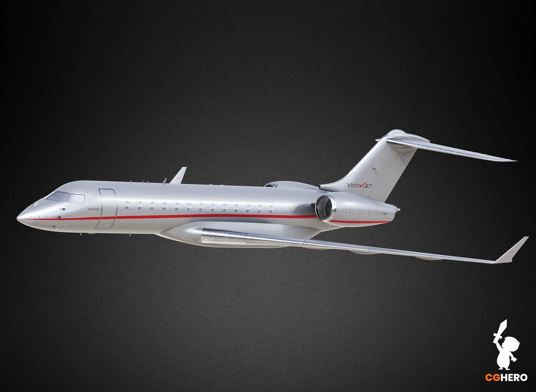 Bombardier Global 5000 Jet Visualisation Vista 5000 03 png