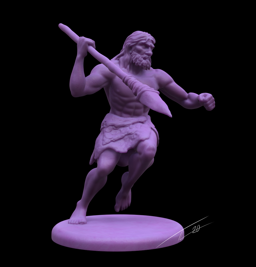 Neanderthal Mini CavemanMain png
