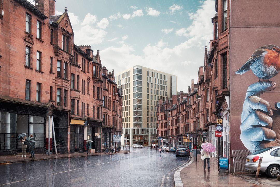 Student Housing Photomontage view03 008 jpg