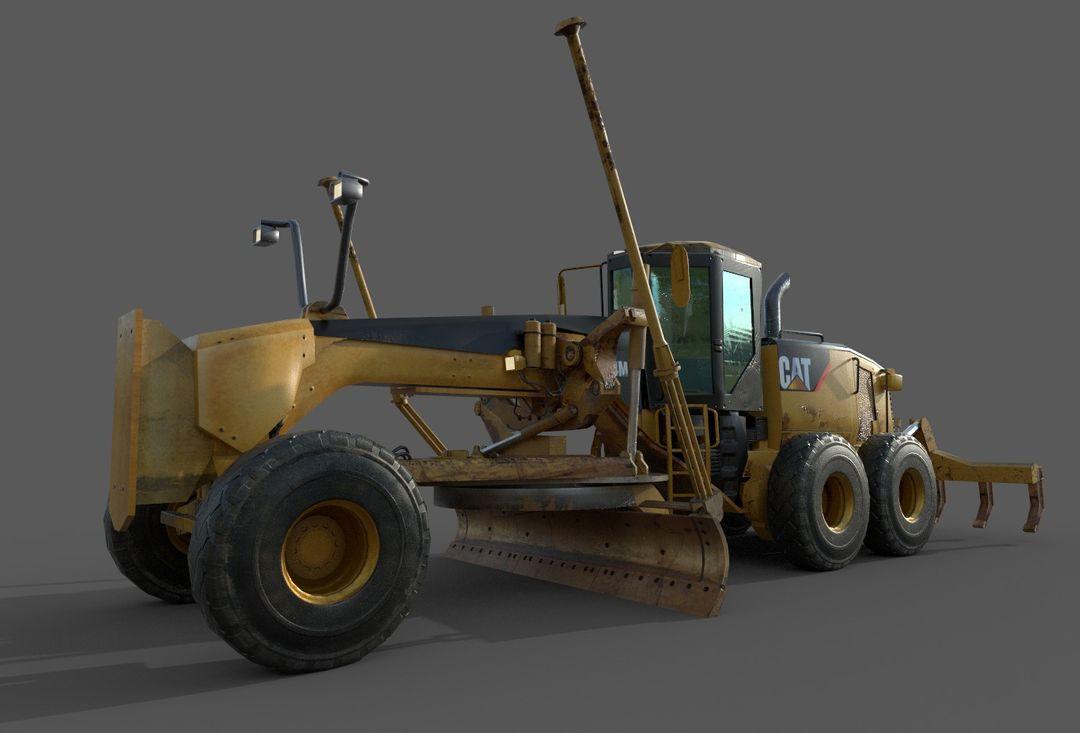 Motor Grader for unreal Engine 14M Final B jpg