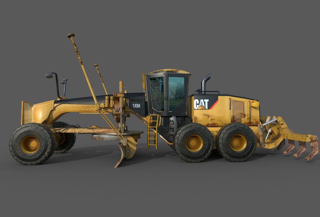 Motor Grader for unreal Engine 14M Final F jpg