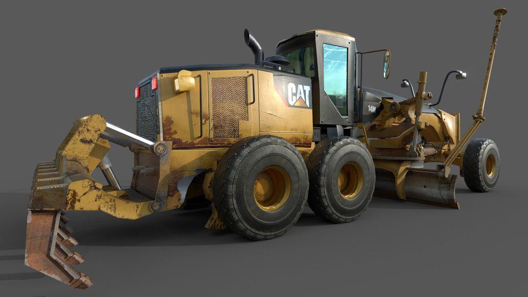 Motor Grader for unreal Engine 14M Final K jpg