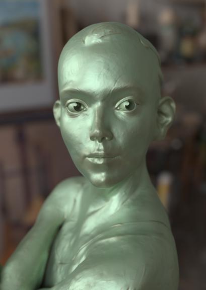 Statue sculpture study