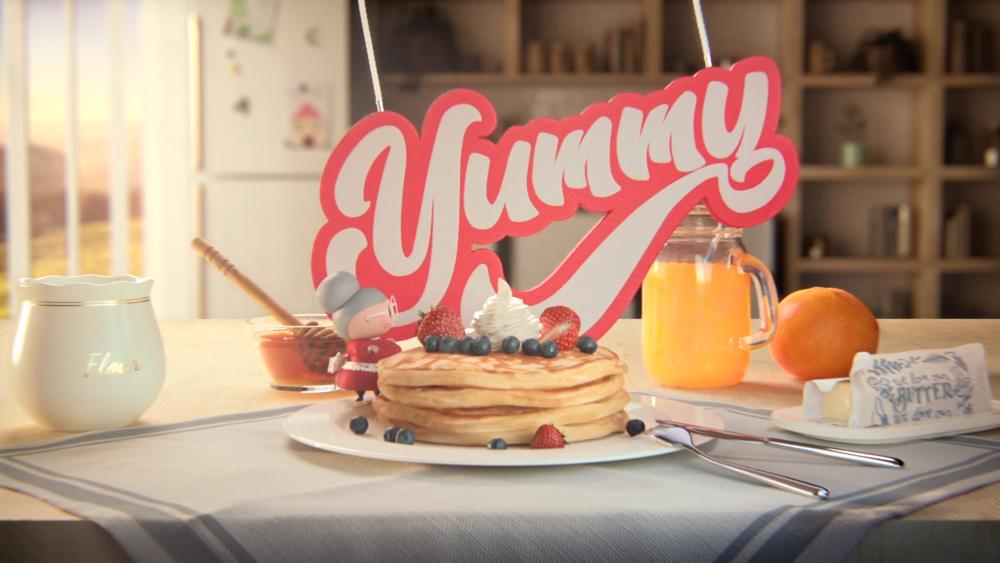 Yummi pancakes - video Yummi matteo musci png
