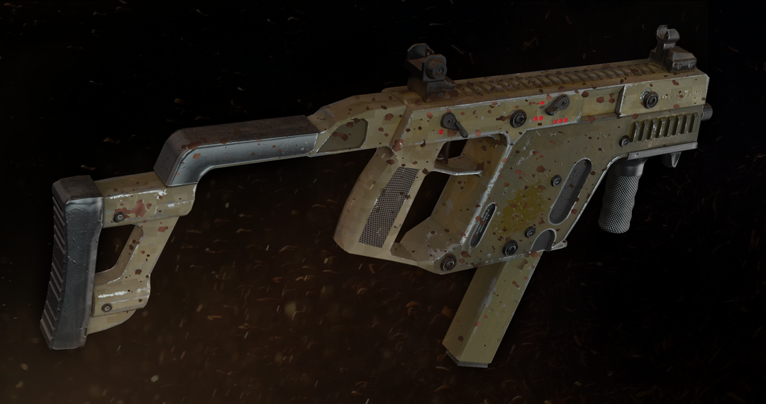 Kriss Vector SMG gun render 1 7 png