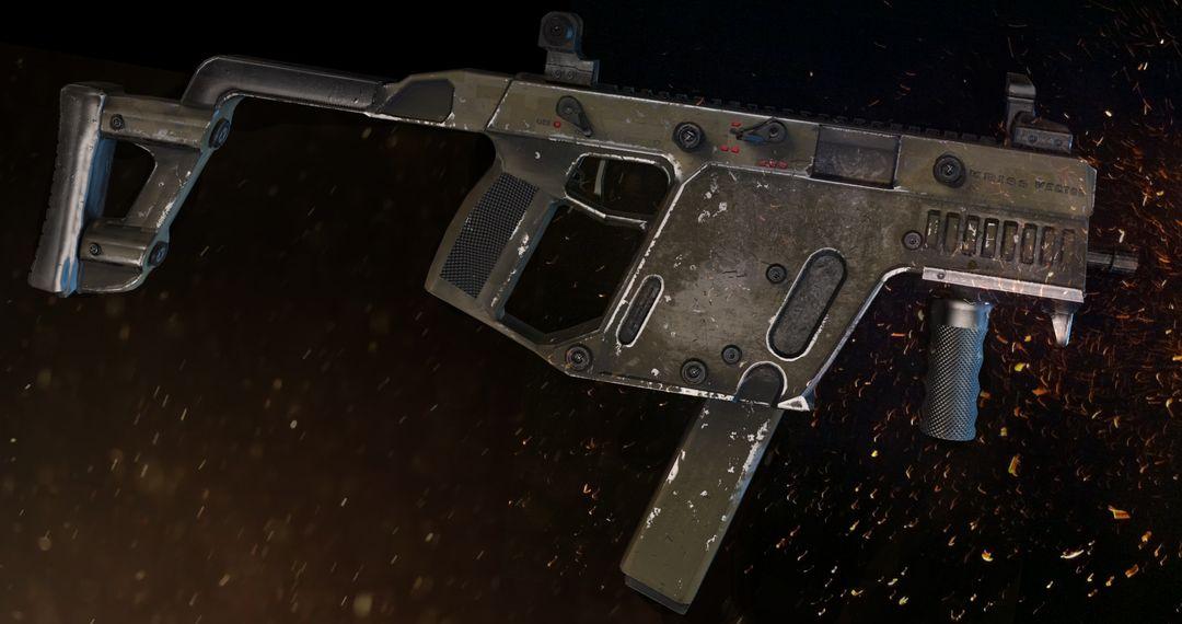 Kriss Vector SMG gun render 2 8 jpg