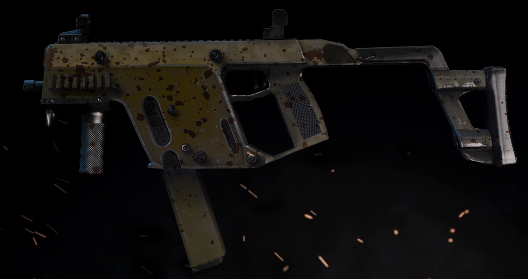 Kriss Vector SMG gun render 3 10 png