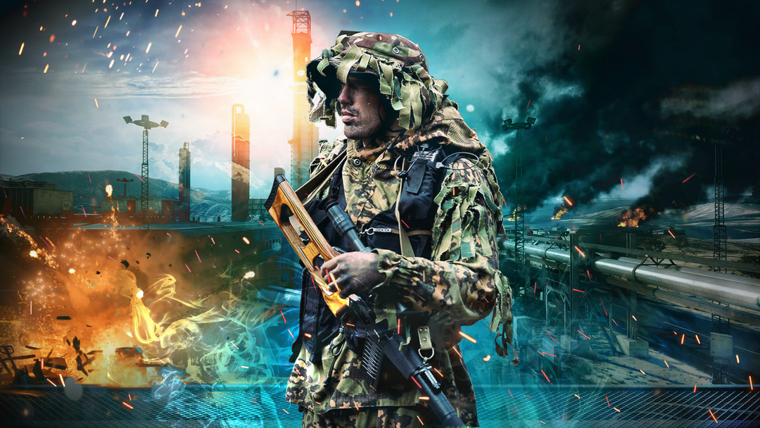 Army poster ghost soldier png