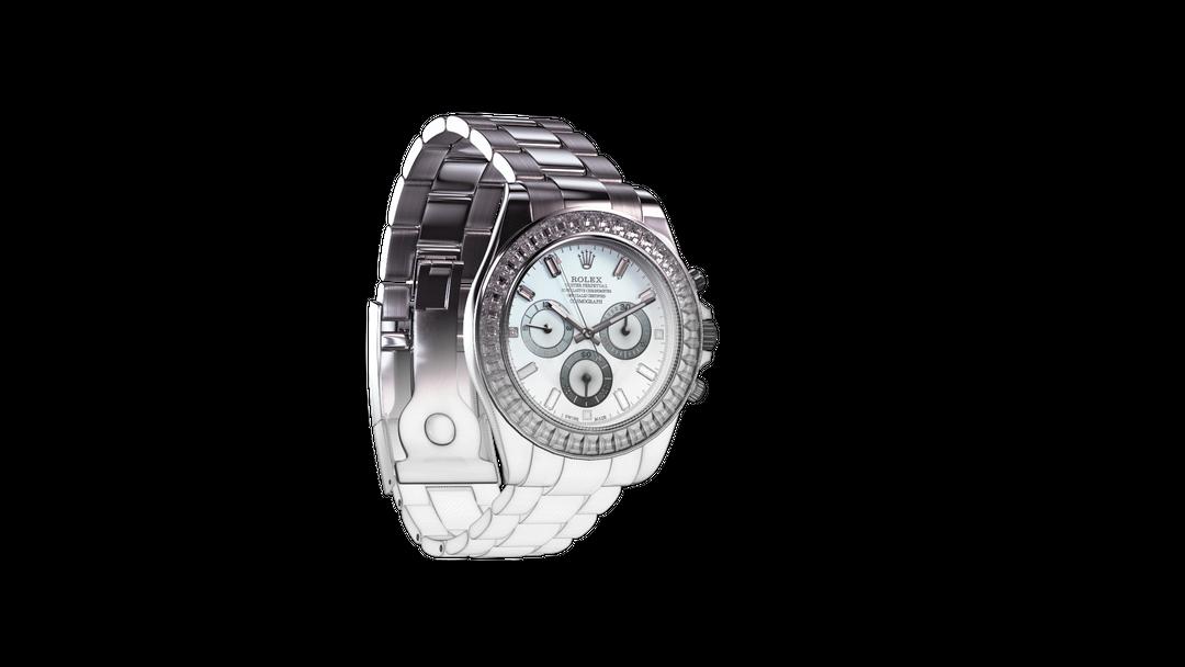 Platinum Rolex Daytona Rolex WireHalf 2 png