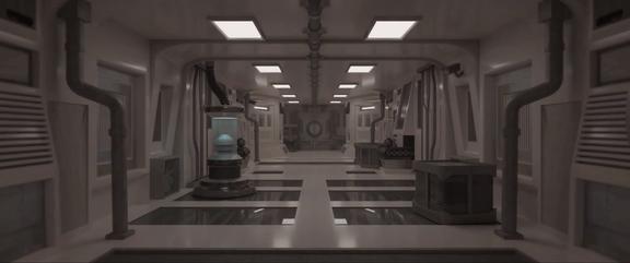 Sci-fi Corridor Loop