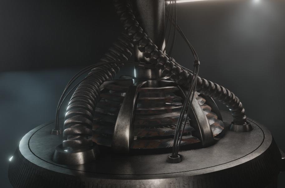 Alien Chamber - Short Animation Screenshot 1 png