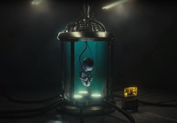 Alien Chamber - Short Animation