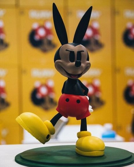 Vinyl Toy - Fan Art - Playboy Mick - Fat Tiger Studio