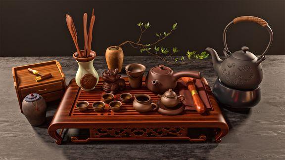 Chinese Tea Set (2016)