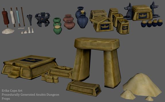 Anubis Based Prop Kit
