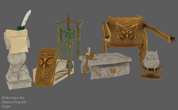 Athena Based Prop Kit