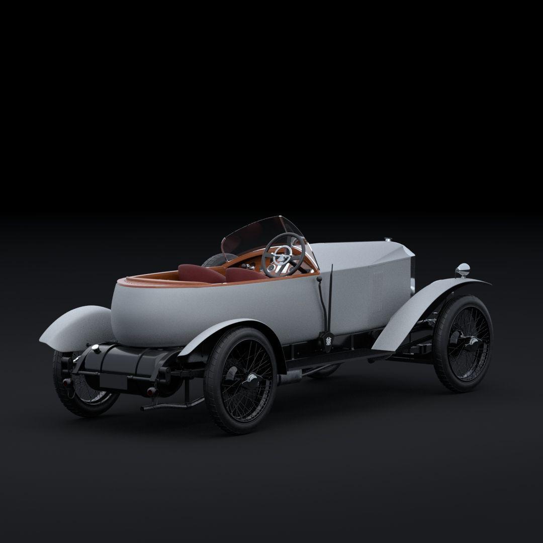 Vauxhall 30-98 Wensum (1924) Maya Vauxhall 30 98 back jpg