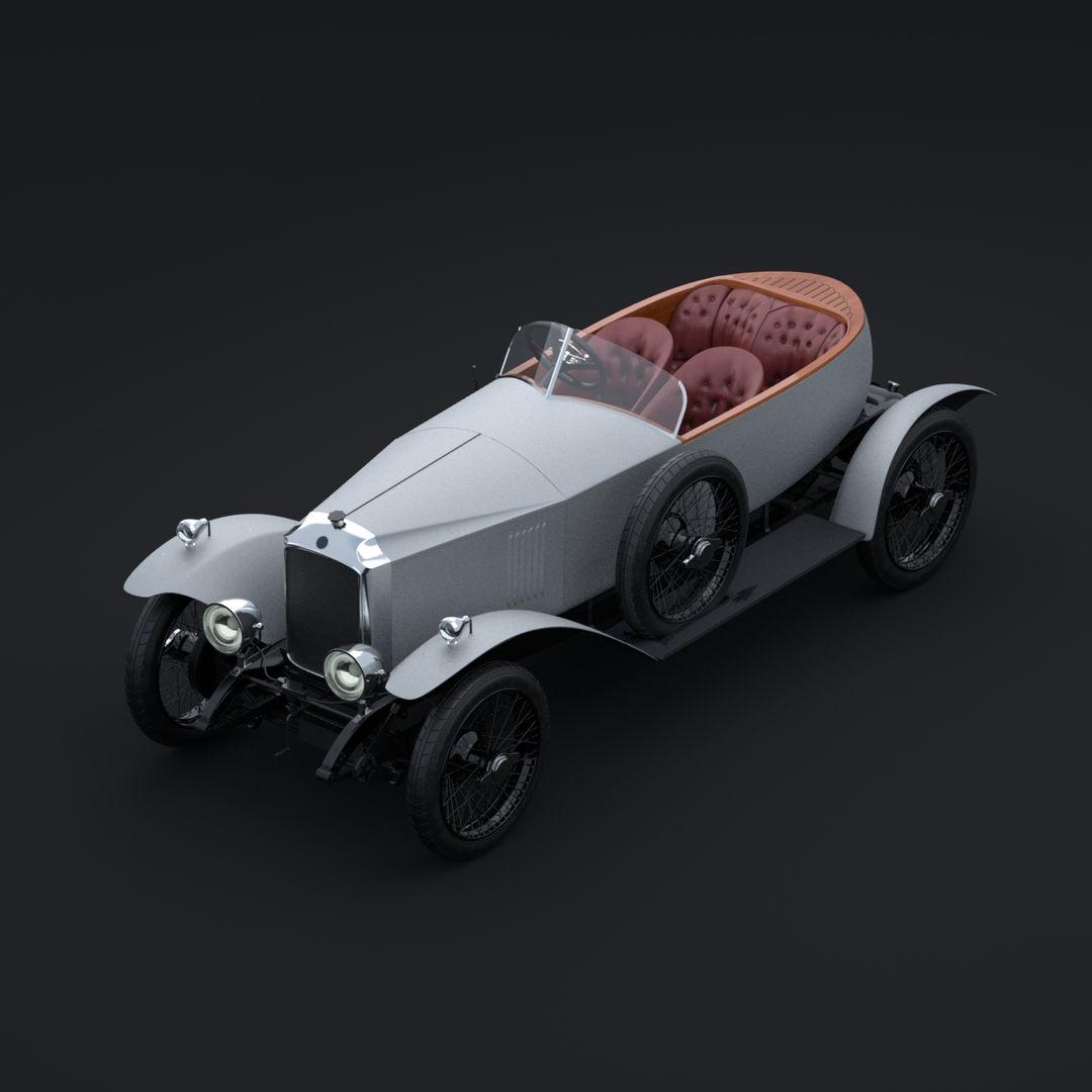 Vauxhall 30-98 Wensum (1924) Maya Vauxhall 30 98 frontTopLeft jpg
