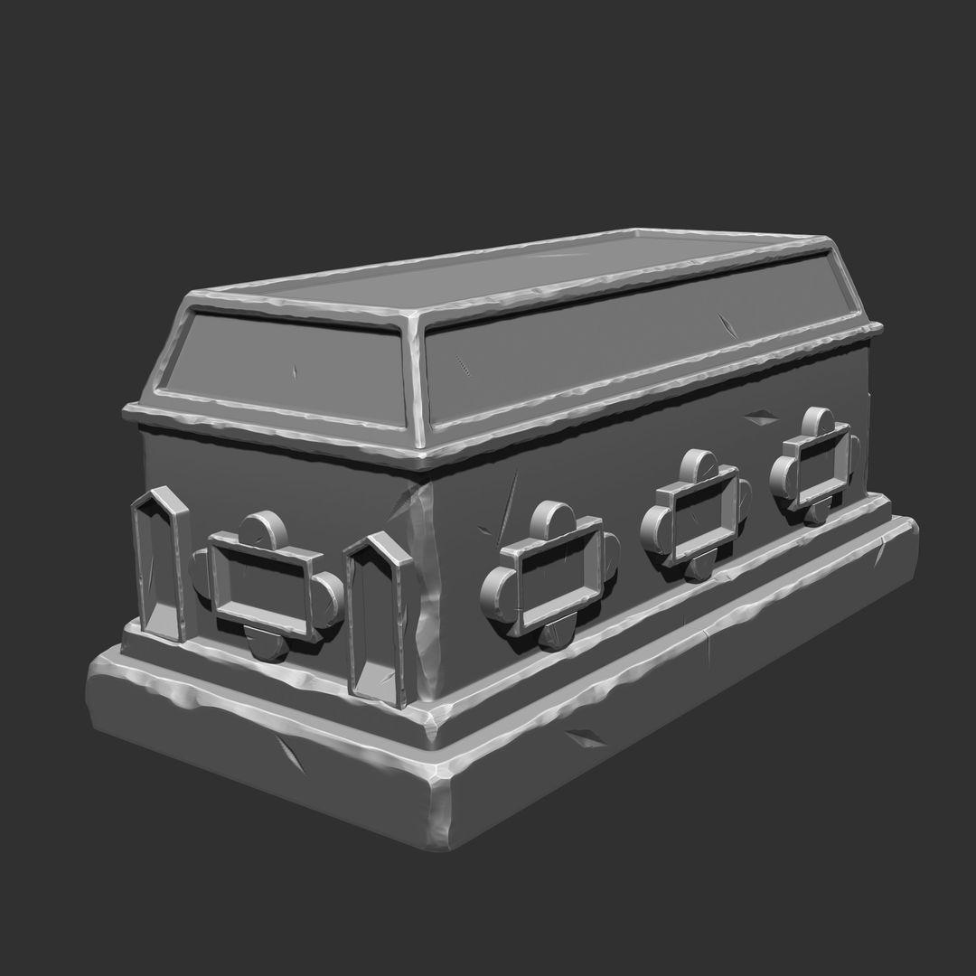 Stylized Sculpting debjit biswas sarcophagus jpg