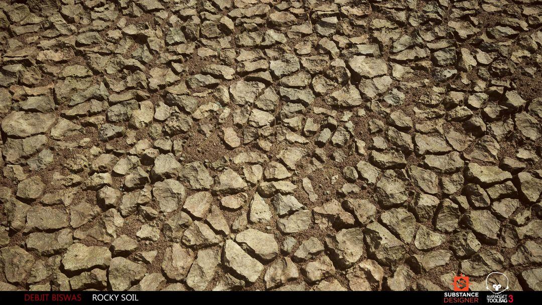 Rocky Soil Material debjit biswas rockysoil render1 jpg
