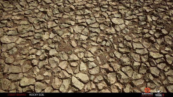 Rocky Soil Material