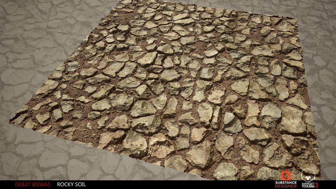 Rocky Soil Material debjit biswas rockysoil render3 jpg