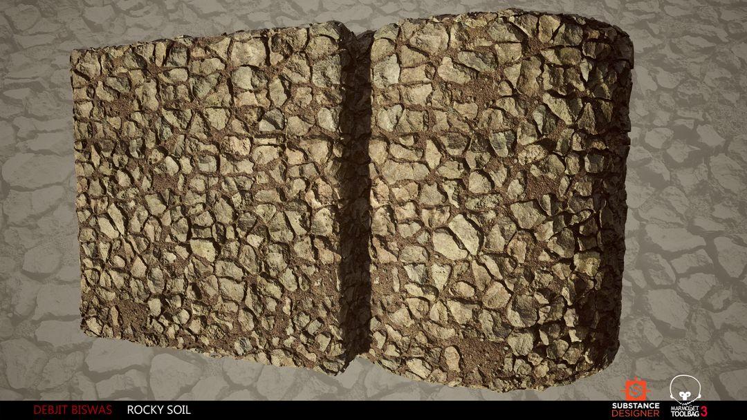 Rocky Soil Material debjit biswas rockysoil render7 jpg