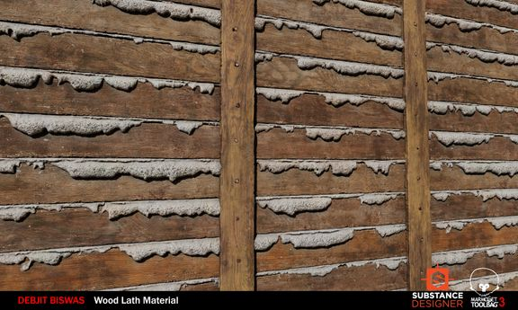 Wood Lath Material