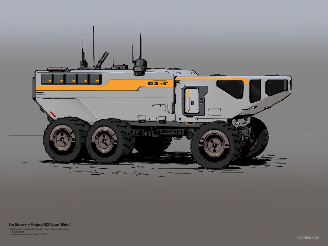"""Rhino"" rover sketch Rhino rover sketch 1920 png"
