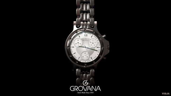 Grovana watch visualization