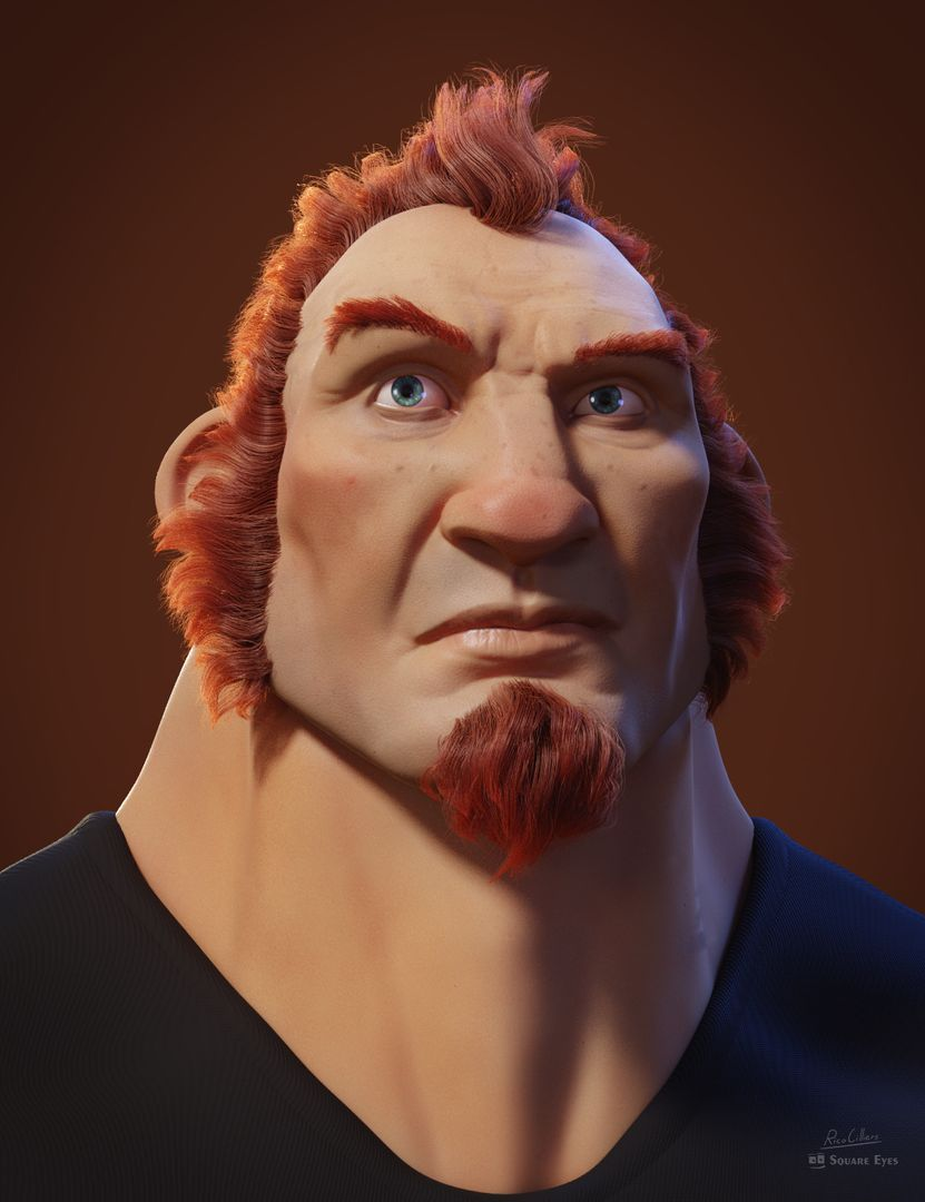 Red haired guy Big Red jpg