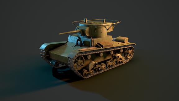 Tank T-26
