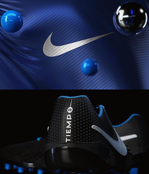 Nike Tiempo 3D CGI