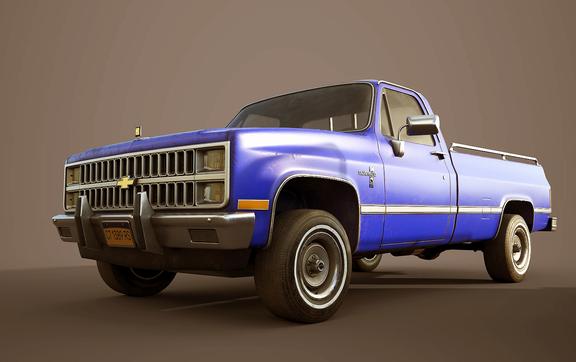 Chevrolet C10 Silverado 1982