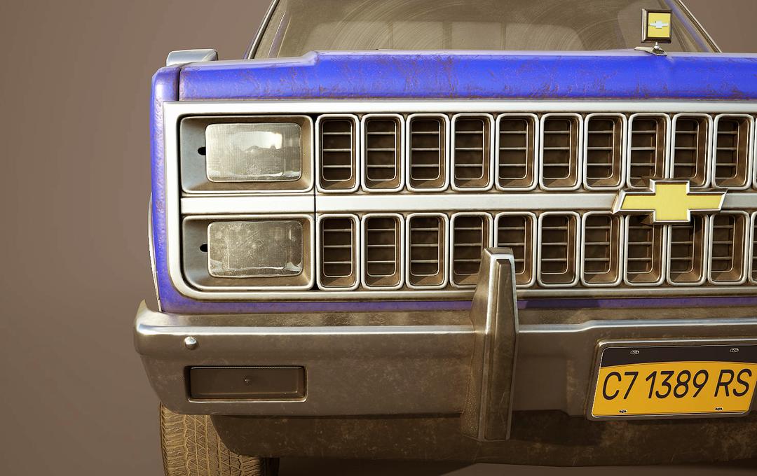 Chevrolet C10 Silverado 1982 Chevrolet C10 Silverado 1982 Reynaldo Palomino 7 png