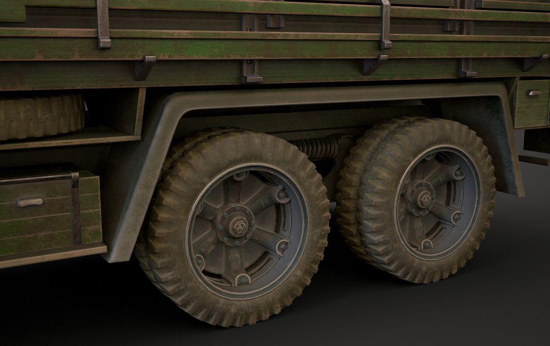 WW2 German Krupp L3H163 Truck 13 jpg