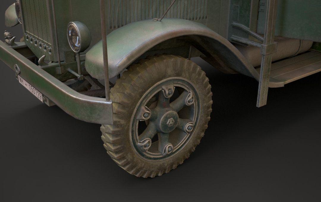 WW2 German Krupp L3H163 Truck 14 jpg