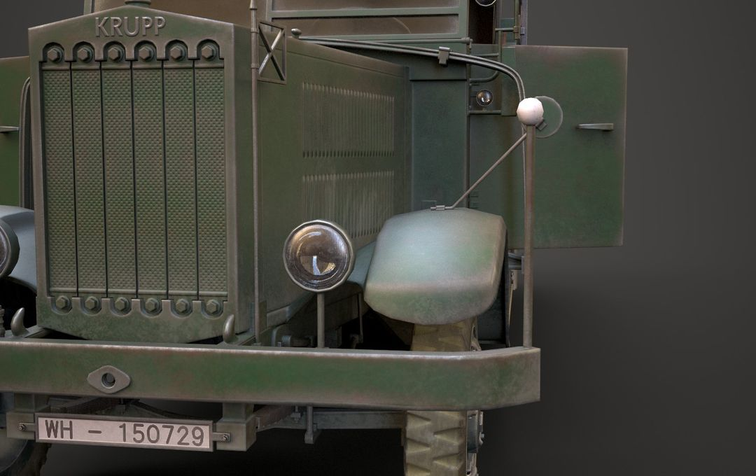 WW2 German Krupp L3H163 Truck 15 jpg
