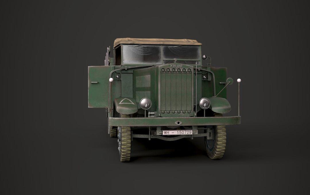 WW2 German Krupp L3H163 Truck 2 jpg
