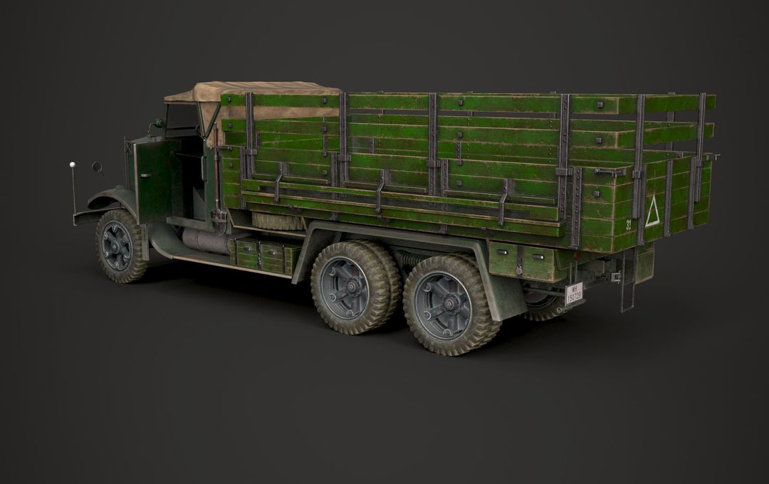 WW2 German Krupp L3H163 Truck 5 jpg